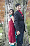 The Young Happy Indian Couple Royalty Free Stock Images