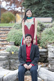 Young Happy Indian Couple Royalty Free Stock Photography
