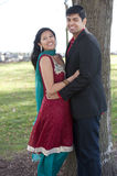Young Happy Indian Couple Stock Photos