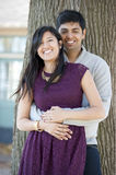 Young Happy Indian Couple Stock Photo