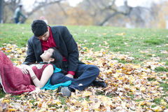 Young Happy Indian Couple Royalty Free Stock Photos