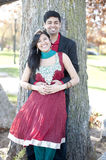 Young Happy Indian Couple Stock Photography