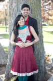 Young Happy Indian Couple Stock Images