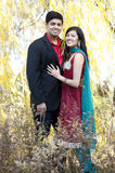 Young Happy Indian Couple Royalty Free Stock Images
