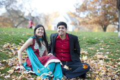 Young Happy Indian Couple Royalty Free Stock Image
