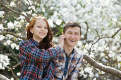 Young happy love Stock Photography