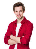 Young happy man stock photography