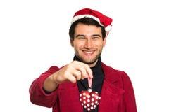 Young happy Santa Royalty Free Stock Images
