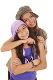 Young happy sisters Royalty Free Stock Image