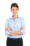 Young Happy Smiling Businesswoman Stock Image