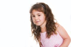 Young happy smiling girl Royalty Free Stock Photo