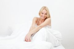 Young happy smiling woman Stock Images