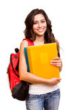 Young happy student Stock Images