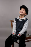 Young happy teenager boy Royalty Free Stock Photos