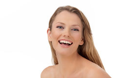 The young happy woman Royalty Free Stock Photo