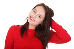 Young happy woman. Stock Images