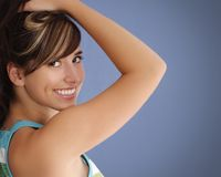 Young happy woman Stock Photos