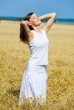 Young happy woman Royalty Free Stock Photography