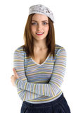 Young happy woman smile Royalty Free Stock Images