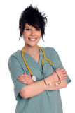 Young Health Care Provider Royalty Free Stock Image