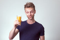 Young healthy man Stock Image