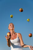 Young healthy woman Stock Image