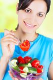 Young healthy woman Stock Photography