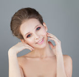 Young Healthy Woman with Fresh Skin Stock Photography