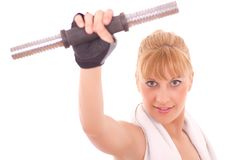 Young healthy women  exercising Royalty Free Stock Photography