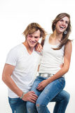 A good laugh Royalty Free Stock Photography