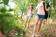 Young hikers Royalty Free Stock Photography