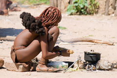 Young Himba woman Royalty Free Stock Photos