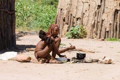 Free Young Himba Woman Stock Photo - 31029870