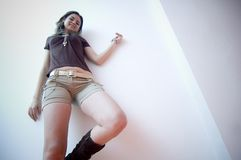 Young Hip Female Royalty Free Stock Photography