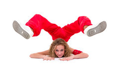 Young hip-hop dancer posing Royalty Free Stock Photos