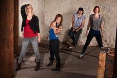 Young Hip Hop Dancers Stock Photos