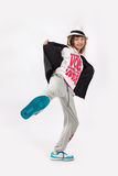 Hip-hop girl Royalty Free Stock Images
