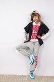Hip-hop girl Stock Image