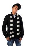 Young Hip-Hop man Posing Royalty Free Stock Photos