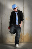 Young Hip Hop man Standing Royalty Free Stock Photography