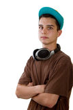 Young hip kid Royalty Free Stock Photography
