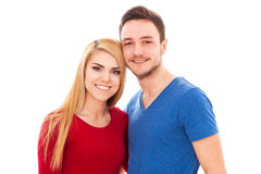 Young hipster couple Royalty Free Stock Image