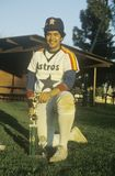 Young Hispanic Baseball player Royalty Free Stock Image