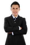 Young Hispanic Businessman Stock Images