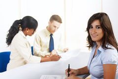 Young Hispanic businesswoman Royalty Free Stock Images