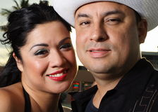 Young Hispanic Couple Stock Images