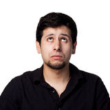 Young hispanic man. Funny series of images, lots of different expressions Stock Photos