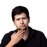 Young hispanic man Royalty Free Stock Photos