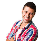Young hispanic man Royalty Free Stock Images