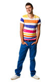 Young hispanic man standing Royalty Free Stock Photo